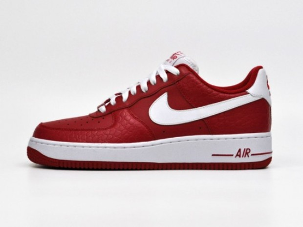 Nike Air Force 1 - Red/White